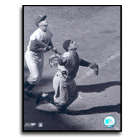 Yogi Berra and Pee Wee Reese Photograph