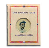 Charles Gehringer Our National Game  Pin