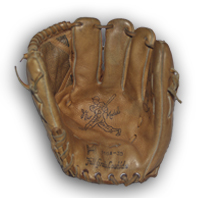 Joe DiMaggio Hollander Baseball Glove