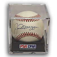 Joe DiMaggio Signed Autographed Baseball