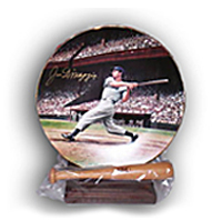 Joe DiMaggio Bradford Exchange Collectors Plate