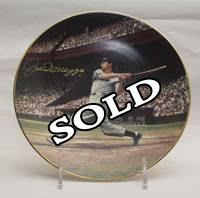 Joe DiMaggio Collectors Plate