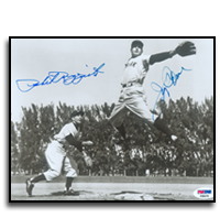 Phil Rizzuto and Jerry Coleman Signed Photograph