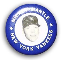 Mickey Mantle Pin