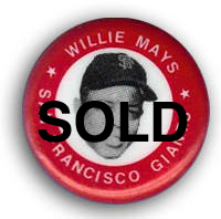 Willie Mays Pin