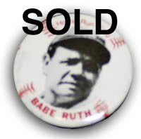 Babe Ruth Home Run King Pin