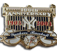New York Yankees Pin