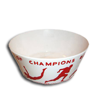 Wheaties Cereal Bowl with Joe DiMaggio