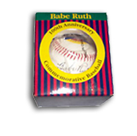 Babe Ruth Rare Commemorative Baseball