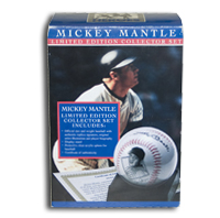 Mickey Mantle Rare Commemorative Baseball